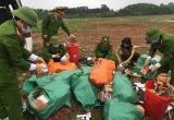 Quảng Bình:  Tiến hành tiêu hủy gần 300kg pháo nổ