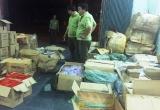 Bình Định:  Bắt giữ xe tải chứa lô hàng khủng không hóa đơn chứng từ