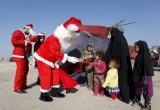 Chùm ảnh Giáng sinh bình yên trên đất nước Iraq