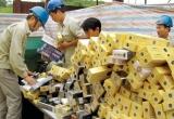 Bình Phước: Phát hiện 5.000 gói thuốc lá nhập lậu