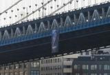 Ảnh của Tổng thống Nga Putin xuất hiện trên cầu ở Mỹ