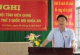 Bộ trưởng Lê Thành Long giải đáp vấn đề 'nóng' cho cử tri Kiên Giang