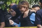 Hôm nay, Đoàn Thị Hương tiếp tục ra tòa