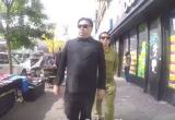 Nghi vấn nhân vật giống ông 'Kim Jong-un' thong thả tản bộ tại New York, thăm Tháp Trump