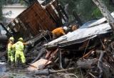 Chùm ảnh lở bùn và lũ lụt tại California, ít nhất 17 người thiệt mạng