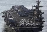 Mỹ triển khai tàu và máy bay ném bom tàng hình tới Hàn Quốc