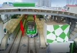 Hà Nội: Đóng điện toàn tuyến, sắp chạy thử đường sắt Cát Linh - Hà Đông