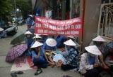 Giải oan công nhân Cty Dệt: Tiếp tục ngồi vỉa hè 'ngóng' QĐ 86