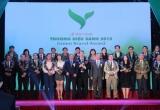 Bộ Tài nguyên môi trường tôn vinh Top 50 Thương hiệu xanh 2015