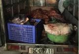 Bắc Giang: 3 tạ thịt lợn không qua kiểm dịch bị bắt giữ