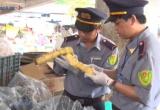 Quảng Trị: Phát hiện 1 tấn măng có chất vàng ô tại chợ Đông Hà