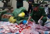 Cao Bằng: Liên tục bắt giữ thực phẩm đông lạnh bẩn
