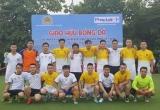 Giao lưu thể thao chào mừng 91 năm Ngày Báo chí cách mạng Việt Nam