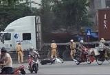 Hải Dương: 'Ma men' lái container bỏ trốn như phim hành động