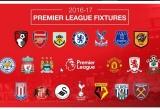 Lịch thi đấu vòng 1 giải Ngoại Hạng Anh mùa giải 2016-2017