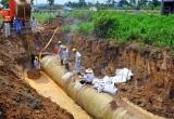 Toàn cảnh sự cố vỡ đường ống nước sông Đà