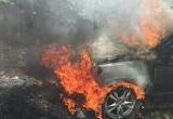 Hà Giang: 'Xế hộp' cháy trơ khung trên đường đi ngắm hoa Tam Giác Mạch