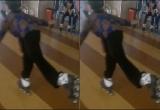 Clip vui: Cụ bà 80 tuổi trượt patin cực điêu luyện