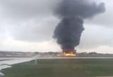 Rơi máy bay chở quan chức EU, 5 người thiệt mạng