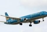 Máy bay Vietnam Airlines không được hạ cánh vì tổ bay chưa được huấn luyện