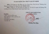 Quảng Bình: Phó Bí thư Đảng ủy xã bị tố khai man bằng cấp