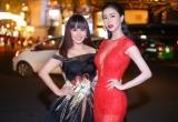 Hoa hậu Hằng Nguyễn, Hà Thu đến ủng hộ Nam Em nhận giải thưởng đặc biệt