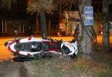 Bình Dương: Hai xe máy đấu đầu, 4 thanh niên nguy kịch