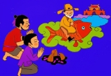 Hà Nội: Xuất hiện 'Ông Táo cưỡi cá chép' dạo quanh hồ Hoàn Kiếm