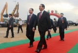 Chủ tịch nước Trần Đại Quang dự Lễ khởi công Dự án đường ven biển nối Sầm Sơn - Khu kinh tế Nghi Sơn