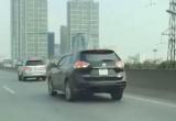 Video: 5 ô tô 'rủ nhau' cùng đi lùi trên đường vành đai 3