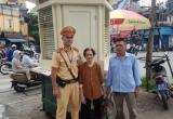 Người dân viết tâm thư cảm ơn chiến sĩ CSGT đội 1 Công an TP Hà Nội