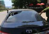 Đà Nẵng: Xác định danh tính nhóm đối tượng phá xe ô tô dọc đường bờ biển