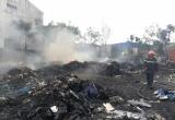 Bình Dương: Hàng ngàn m2 xưởng phế liệu bị 'bà hỏa' thiêu rụi