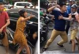 Va chạm giao thông, nam thanh niên ngoại quốc bị đánh 'bầm dập' trên phố