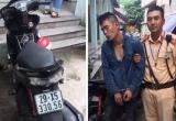 Hà Nội: Công an lập chốt chặn, tóm gọn đối tượng trộm xe máy