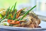 Đổi món cho bữa cơm gia đình với cá song hấp xì dầu ngon, bổ