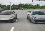 Bộ đôi siêu xe độ của Việt Nam lên báo nước ngoài