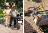 Hà Nội: Vừa trộm được xe máy 20 phút, đối tượng bị 141 bắt giữ