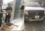 Thanh Hóa: Bắt xe ôtô vận chuyển trái phép gần 2 tạ thuốc nổ