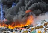 Bắc Ninh: Ô nhiễm không khí do cháy kho phế thải