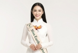 Hà Thu đại diện Việt Nam dự thi Hoa hậu Trái Đất 2017