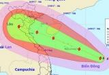 Chủ tịch UBND tỉnh Nam Định ban hành công điện khẩn ứng phó với cơn bão số 10
