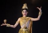 Trương Thị May khoe vẻ yêu kiều, dịu dàng mừng tết ĐônTa của người Khmer