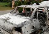 Hòa Bình: Xe ô tô con bỗng nhiên phát hỏa cháy rụi  trong đêm