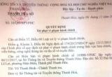 Đưa tin xuyên tạc lên Facebook, cô gái 24 tuổi ở Thanh Hóa bị phạt 5 triệu đồng