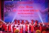 """Ngành Giáo dục Phú Thọ tưng bừng tổ chức """"Liên hoan hát Xoan"""""""