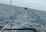 Ứng cứu 6 thuyền viên bị chìm tàu tại khu vực biển Quảng Bình