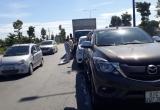Bình Dương: Tai nạn liên hoàn giữa 3 ô tô