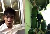 Khánh Hòa: Giải cứu nam thanh niên ngáo đá leo lên trần nhà