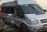 Bình Dương: Ô tô 16 chỗ lật nhào trên quốc lộ 1